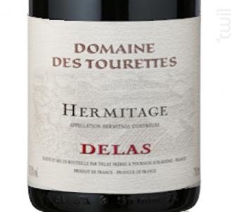 Hermitage - Maison Delas - Domaine Des Tourettes - 2015 - Rouge