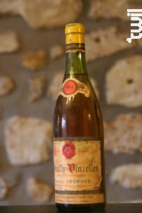 Pouilly Vinzelles - Vignoble Marcel George - 1966 - Blanc