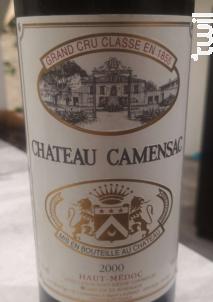 Château Camensac - Château de Camensac - 2000 - Rouge