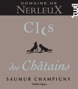 Clos des Châtains - Domaine de Nerleux - 2017 - Rouge
