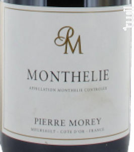 MONTHELIE - Domaine Pierre Morey - 2014 - Rouge