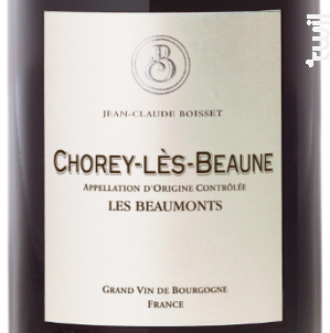 Chorey-Lès-Beaune Les Beaumonts - Jean-Claude Boisset - 2018 - Rouge