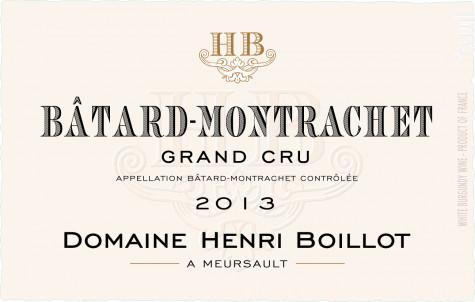 Bâtard-Montrachet Grand Cru - Maison Henri Boillot - 2016 - Blanc