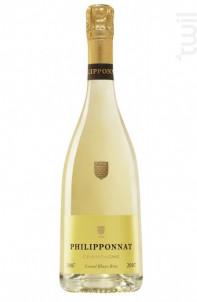 Grand Blanc Brut Millésimé - Champagne Philipponnat - 2009 - Effervescent