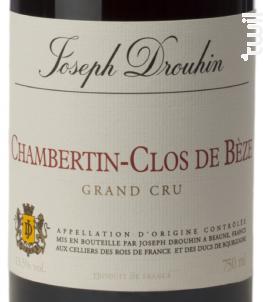 Chambertin-Clos de Bèze - Grand Cru