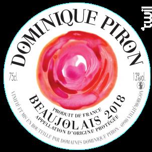 Beaujolais Rosé - Dominique Piron - 2018 - Rosé