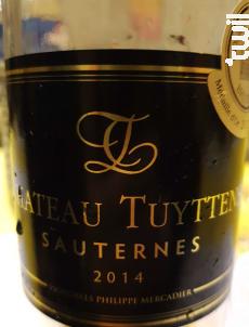 Château Tuyttens - Philippe Mercadier Vignobles - 2012 - Blanc
