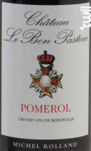 Château Le Bon Pasteur - Château Le Bon Pasteur - 2014 - Rouge