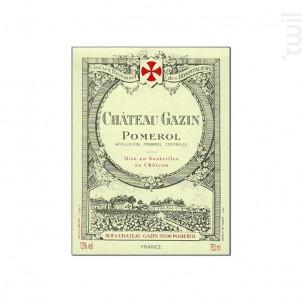 Château Gazin - Château Gazin - 2015 - Rouge