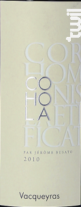 Cor Hominis Laetificat Vacqueyras - COHOLA - 2010 - Rouge
