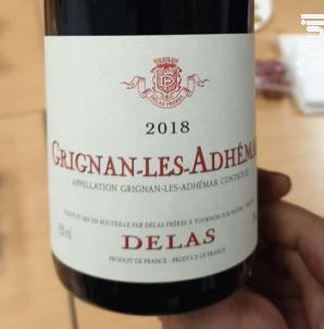 Grignan-Les-Adhémar - Maison Delas - 2018 - Rouge