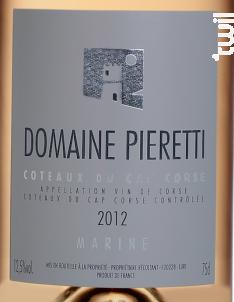Marine - Domaine Pieretti - 2017 - Rosé