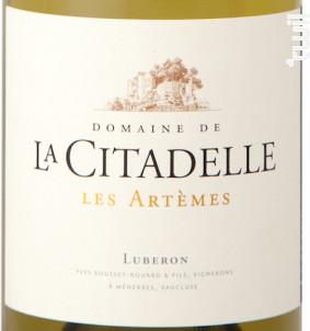 Les Artemes - Domaine de la Citadelle - 2018 - Blanc