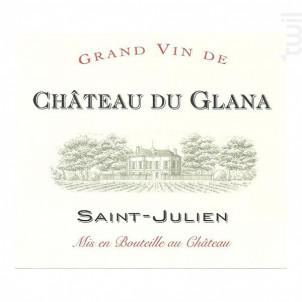 Château du Glana - Château du Glana - 2011 - Rouge