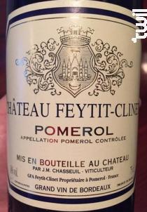Château Feytit Clinet - Château Feytit Clinet - 2017 - Rouge