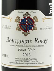 Bourgogne Pinot Noir - Domaine Bzikot - 2014 - Rouge