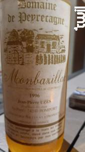 Monbazillac - Domaine de Peyrecagne - Uzès Jean-Pierre - 1990 - Blanc