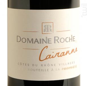 Cairanne - Domaine Roche - Vallée du Rhône - 2014 - Rouge