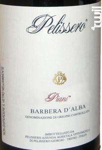 Pelissero Barbera d'Alba Piani - Azienda Agricola di pelissero giorgio - 2014 - Rouge