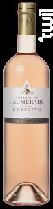 L'origine Rosé - Château de l'Aumerade - 2018 - Rosé