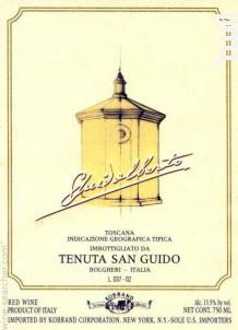 GUIDALBERTO - Tenuta San Guido - 2012 - Rouge