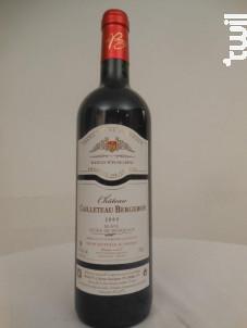 Château Cailleteau Bergeron Tradition - Château Cailleteau Bergeron - 2009 - Rouge