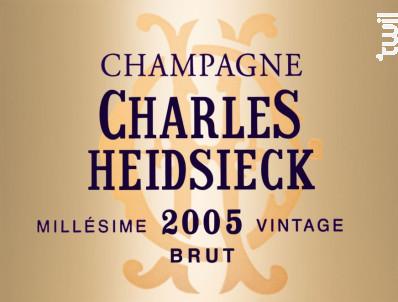 Brut Millésimé - Champagne Charles Heidsieck - 2006 - Effervescent