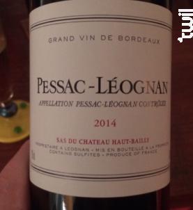 Pessac-Léognan - Château Haut-Bailly - 2016 - Rouge