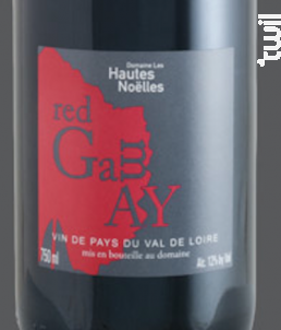 Red Gamay - Domaine Les Hautes Noëlles - 2017 - Rouge