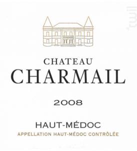 Château Charmail - Château Charmail - 2008 - Rouge