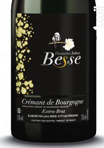 Crémant de Bourgogne - Domaine Julien Besse - Non millésimé - Effervescent