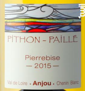 Pierrebise - Domaine Pithon-Paillé - 2015 - Blanc