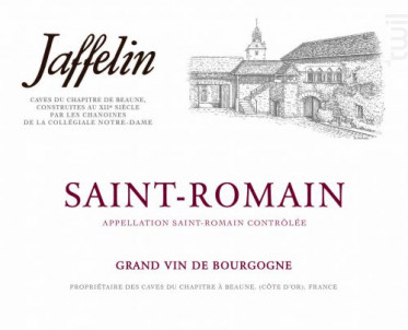 Saint-Romain - Jaffelin - 2015 - Blanc