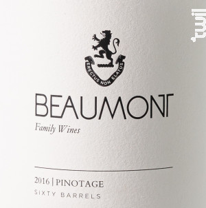 Pinotage - BEAUMONT - 2017 - Rouge