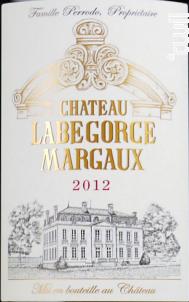 Château Labégorce - Château Labégorce - 2012 - Rouge