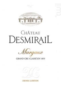 Château Desmirail - Denis Lurton - Château DESMIRAIL - 2016 - Rouge