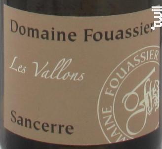 Le Vallon - Domaine Fouassier - 2018 - Blanc