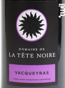La clapière - Domaine de la Tête Noire - 2014 - Rouge