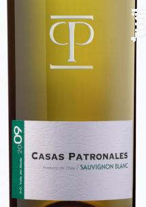 Casas Patronales Sauvignon - Casas Patronales - 2018 - Blanc