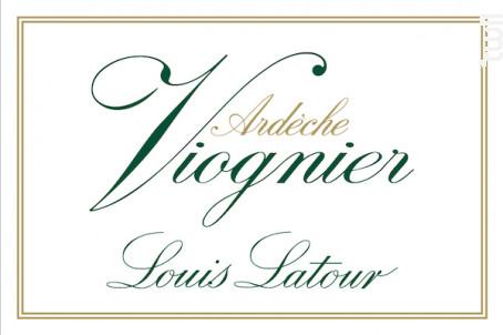 VIOGNIER - Maison Louis Latour - 2016 - Blanc