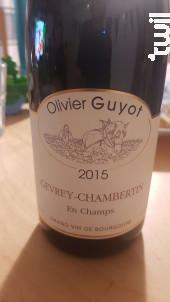 Gevrey-Chambertin En Champs - Domaine Olivier Guyot - 2017 - Rouge