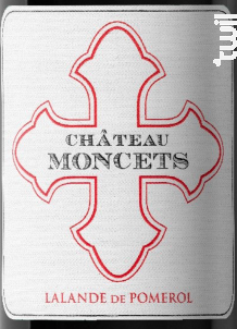 Château Moncets - Château Moncets - 2015 - Rouge