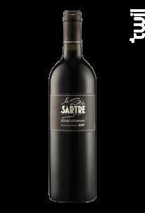 Le S du Sartre - Château Le Sartre - 2011 - Rouge