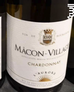 Chardonnay - L'Aurore - 2017 - Blanc