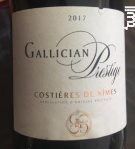 Prestige - La Cave de Gallician - 2017 - Rouge