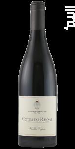 Vieilles Vignes - Maison François-Xavier Nicolas - 2016 - Rouge