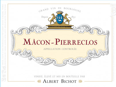 Mâcon Pierreclos - Albert Bichot - 2018 - Rouge