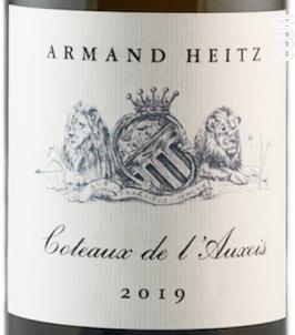 Côteaux de l'Auxois - Domaine Heitz Lochardet - 2019 - Blanc