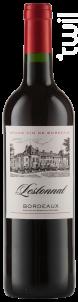 Bordeaux Cabernet Sauvignon - Merlot - Lestonnat - 2016 - Rouge