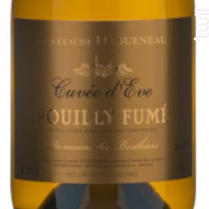 Cuvée d'Eve Vieilles Vignes - Domaine des Berthiers-Jean-Claude Dagueneau - 2016 - Blanc